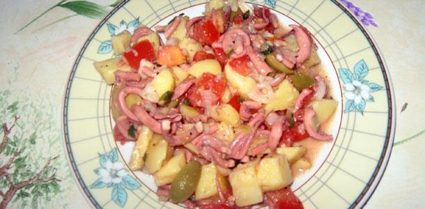 Salata od liganja i krumpira